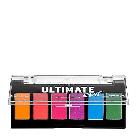 NYX Ultimate Edit Petite Brights paleta de sombras