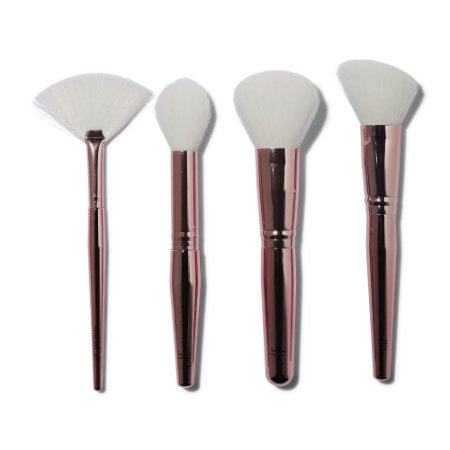 ELF brush & glow face brush kit 4 PINCÉIS