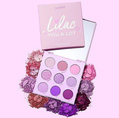 Colourpop Lilac You A Lot paleta de sombras