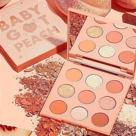 COLOURPOP baby got peach PALETA DE SOMBRAS