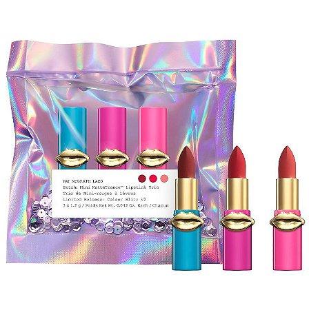 PAT MCGRATH LABS LUST: Mini MatteTrance™ Lipstick Trio Colour Blitz V2