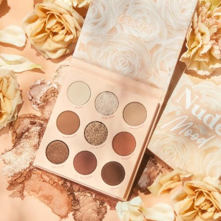 Colourpop NUDE MOOD Paleta de Sombras
