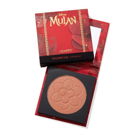 Colourpop MULAN good luck charm pressed powder blush