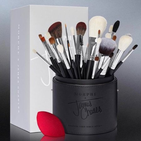 THE JAMES CHARLES BRUSH SET (34 PEÇAS)