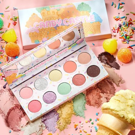 COLOURPOP Candy Castle Paleta de Sombras