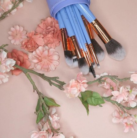 luxie dreamcatcher brush set 15 pincéis + estojo