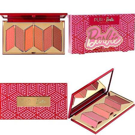 PÜR X Barbie™ Malibu Blush Signature 6-Piece Blush Palette