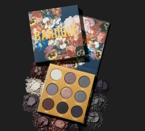 colourpop baroque paleta de sombras
