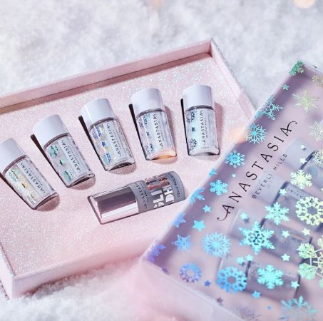 Anastasia Beverly Hills Holiday Glitter Kit 5 PIGMETNOS + COLA