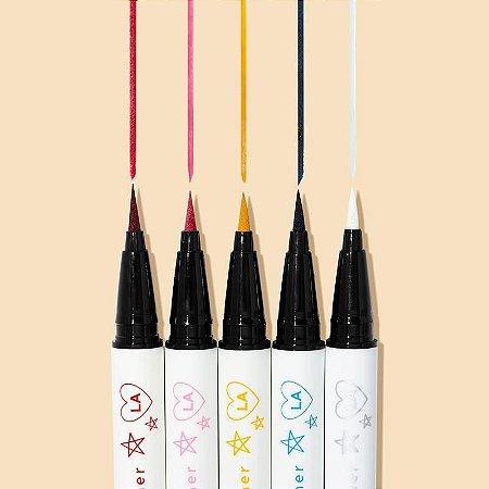 COLOURPOP get graphic liquid liner pen vault kit 5 delineadores