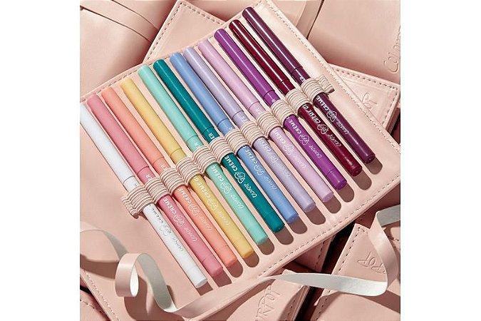 COLOURPOP colour me obsessed! crème gel liner vault (12 delineadores retrátil)