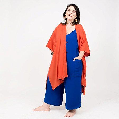 Vestido Kimono Laranja