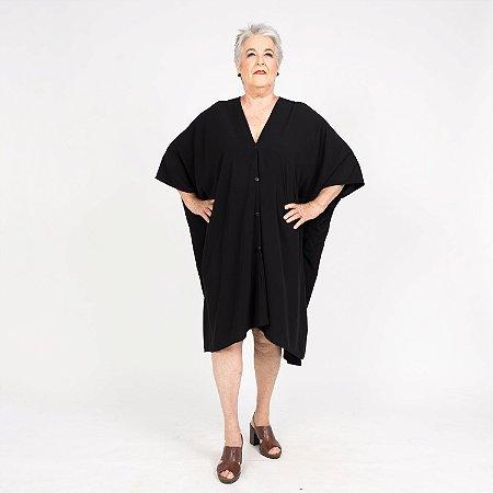Vestido Kimono Preto