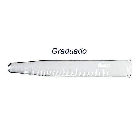 TUBO PARA CENTRIFUGA DE VIDRO GRADUADO 10ML