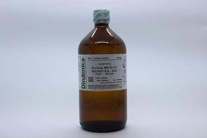 ALCOOL METILICO PA 1L SECADO PARA USO COM KARL FISCHER (METANOL)