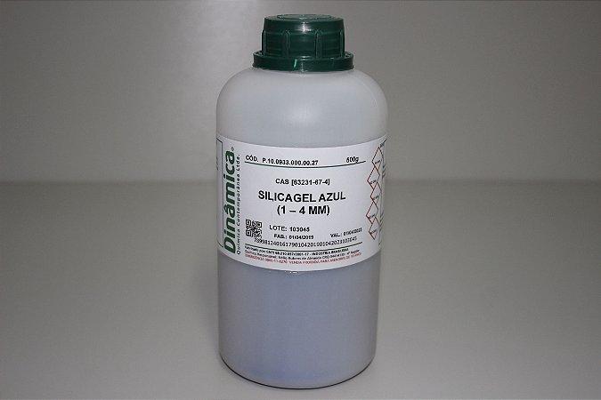 SILICAGEL AZUL 1 A 4MM COM INDICADOR DE UMIDADE PA 500G