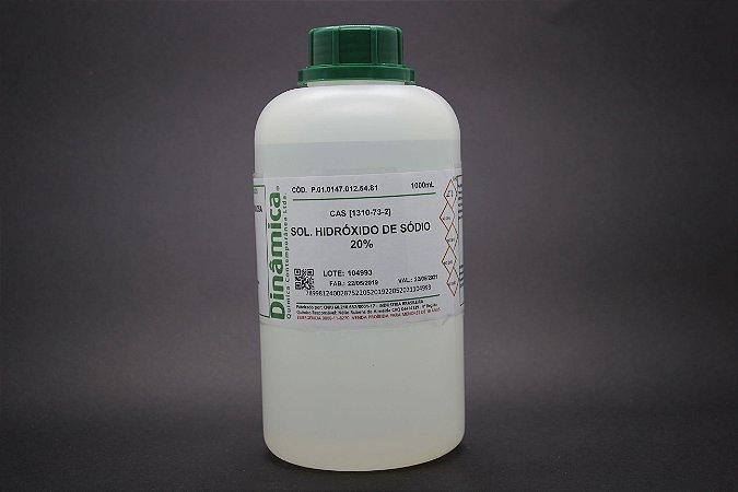 HIDROXIDO DE SODIO 20% 1L *SSP
