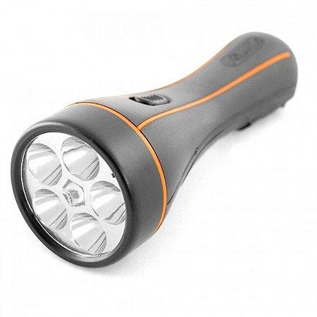 LANTERNA RECARREGAVEL COM 5 LEDS