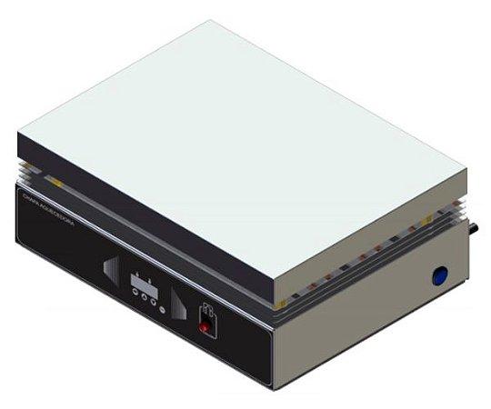 CHAPA AQUECEDORA 30X40CM DIGITAL PLATAFORMA INOX 220V