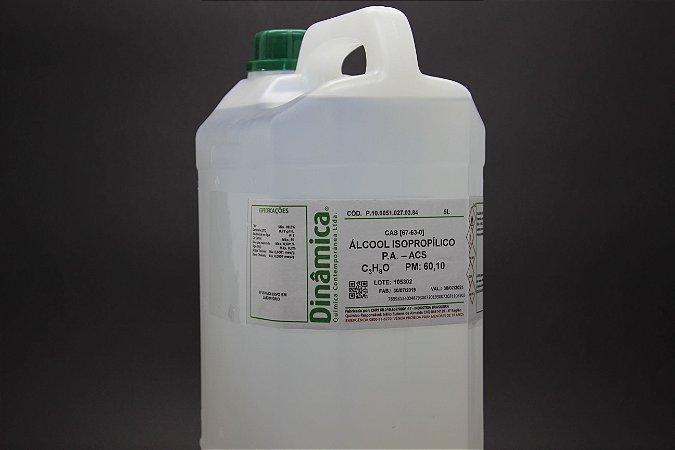 ALCOOL ISOPROPILICO 2-PROPANOL PA 5L