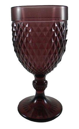 Taça Bico de Jaca Ateliê 340 ml - Ameixa - Cx com 6 und
