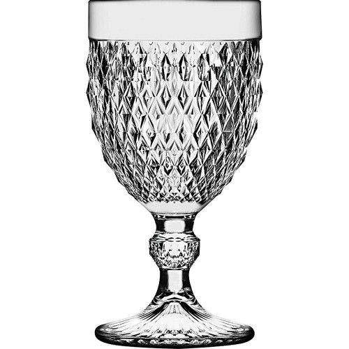 Taça Bico de Jaca Ateliê 340 ml - Transparente - Cx com 6 und
