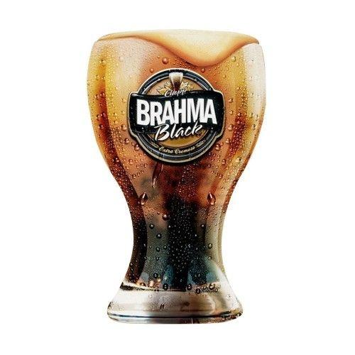 Copo Chopp Brahma Black 430ml Cisper - Cx com 6 und