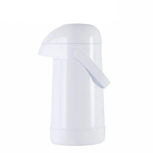 Garrafa Térmica Magic Pump 0,5l Pressão Branca -  Termolar