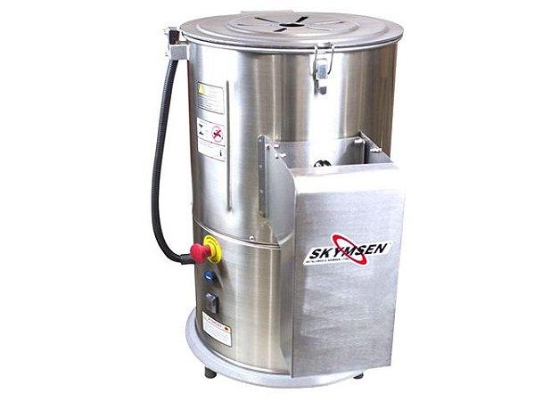 Descascador de Legumes / Batata Inox 10 kg DB-10-S Skymsen - 220v