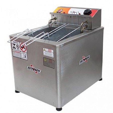 Fritadeira Elétrica Água E Óleo De Mesa 8000w FRM-18 Skymsen - 220v