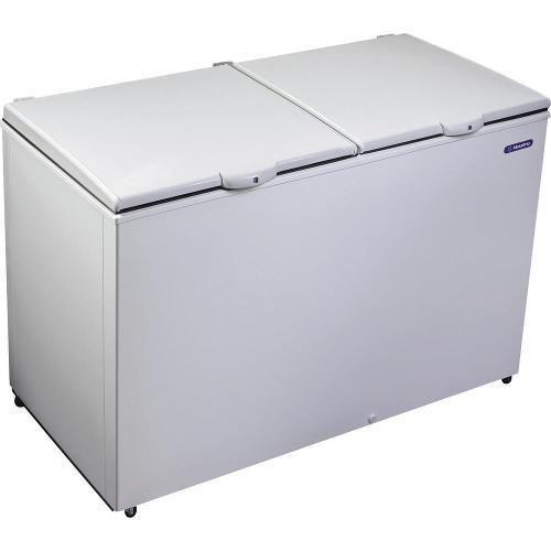 Freezer E Refrigerador Horizontal (Dupla Ação) 2 Tampas 419 Litros Da420 220v - Metalfrio