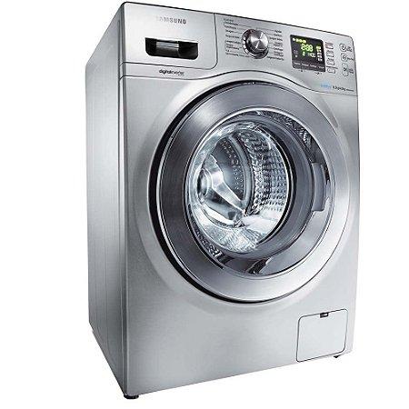 Lavadora Secadora de Roupas Samsung WD856UHSA Prata com Display Digital 919f21e39ef0