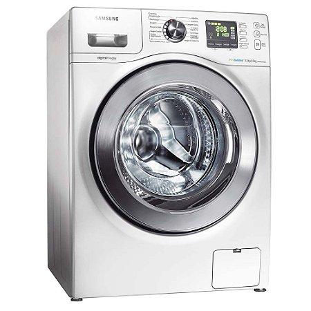 Lavadora/Secadora de Roupas Samsung WD856UHSA Branca com Display Digital, Sistema AIR Wash e 5 Programas de Lavagem - 8,5Kg