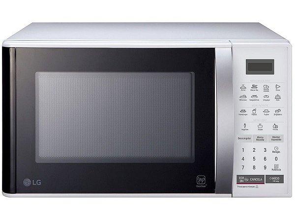 Micro-ondas Lg Easy Clean Ms2355r Branco - 23 litros