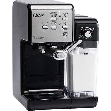 Cafeteira Espresso Oster PrimaLatte Black 6701ss