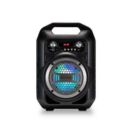 Caixa de Som 6 em 1 Bluetooth 50w RMS FM Multilaser - SP255