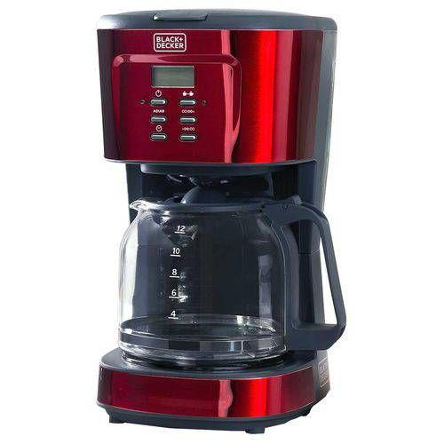 Cafeteira Programável Black & Decker Gift Cmp Vermelha