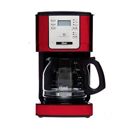 Cafeteira Oster Flavor Programável 900W Vermelha - 4401R