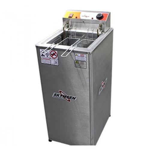 Fritadeira Elétrica Skymsen Água e Óleo Inox FRP-18