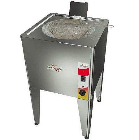 Fritadeira Elétrica Skymsen Água e Óleo de Piso FRP-24 Inox