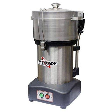 Preparador de alimentos Cutter Skymsen Inox CR-4L 4 Litros NR12