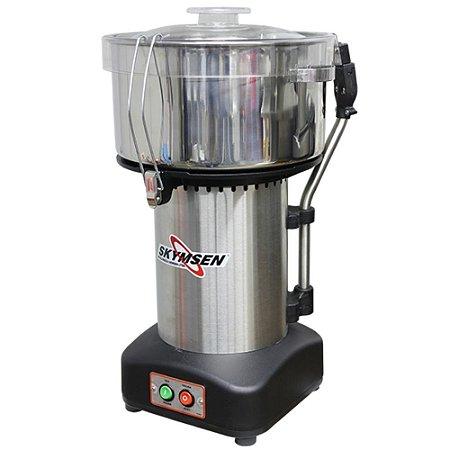 Preparador de alimentos Skymsen Cutter Inox CR-8L 8 Litros NR12
