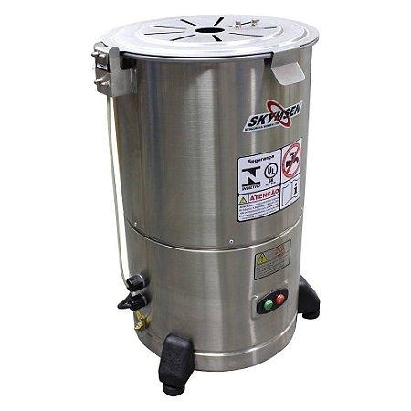Descascador de Legumes Skymsen Inox 6kg DB-06