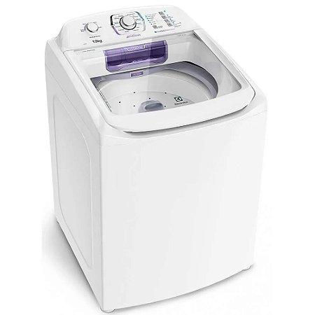 Lavadora Branca Electrolux Dispenser Autolimpante 13Kg Jet & Clean - LAC13