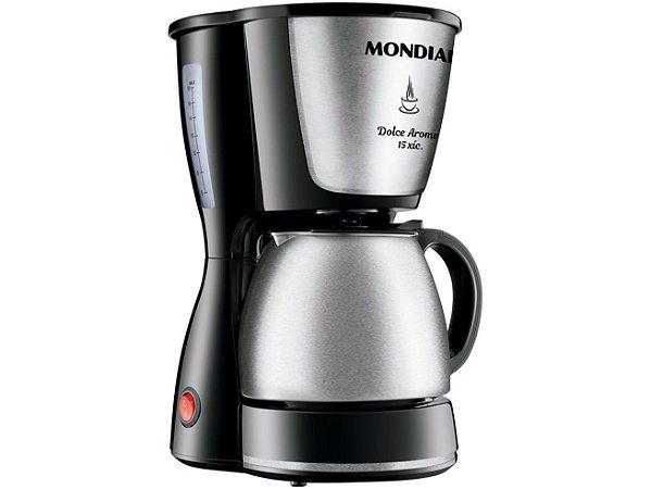 Cafeteira Mondial Dolce Arome Inox C-34 JI