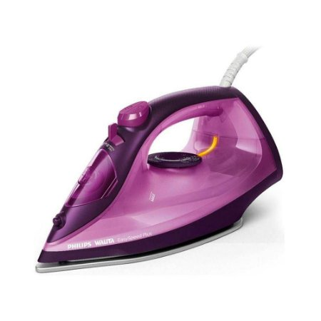 Ferro de Passar à Vapor Philips Easy Speed Plus 2400W Roxo - Ri2147