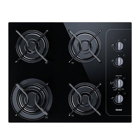 Cooktop 4 bocas Bivolt Consul com Controle Fácil  - CD060AEUNA
