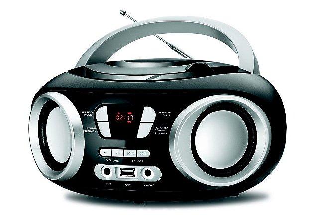 Rádio Boombox Bivolt Mondial NBX-13, Entrada USB/ 6W RMS - 5161-01