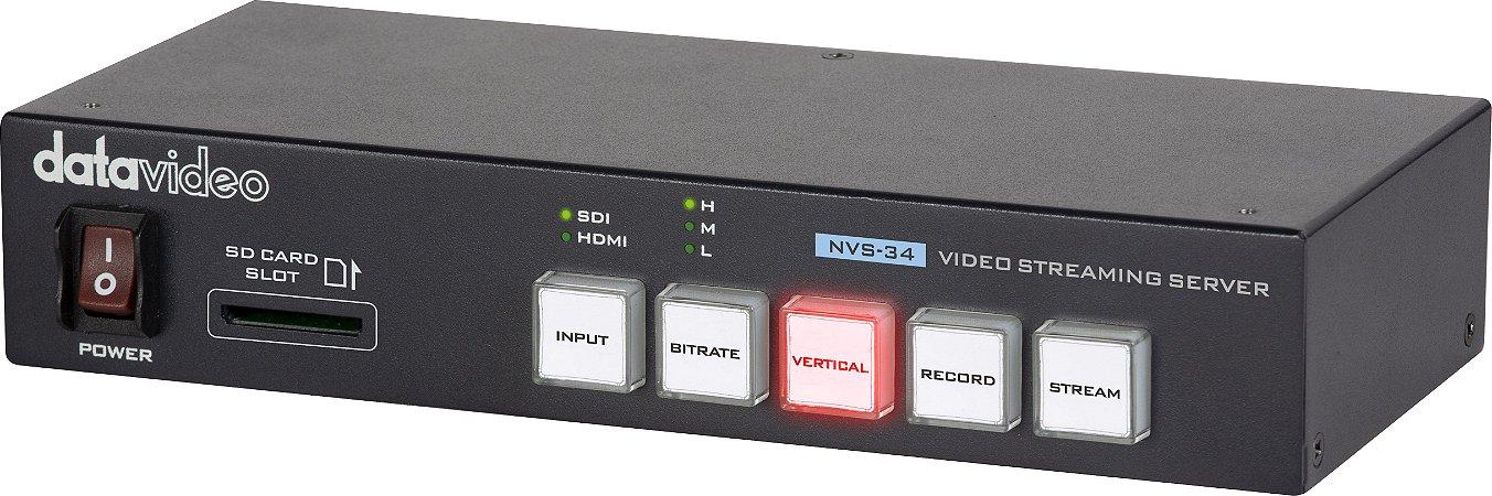 ENCODER E VIDEO STREAMING DATAVIDEO NVS-34