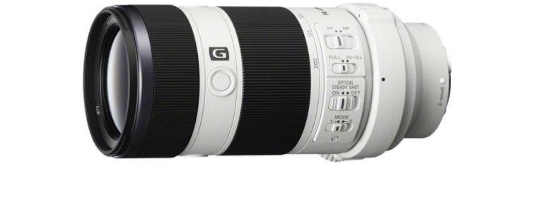 Lente SEL70200G FE 70-200 mm F4 G OSS - Sony